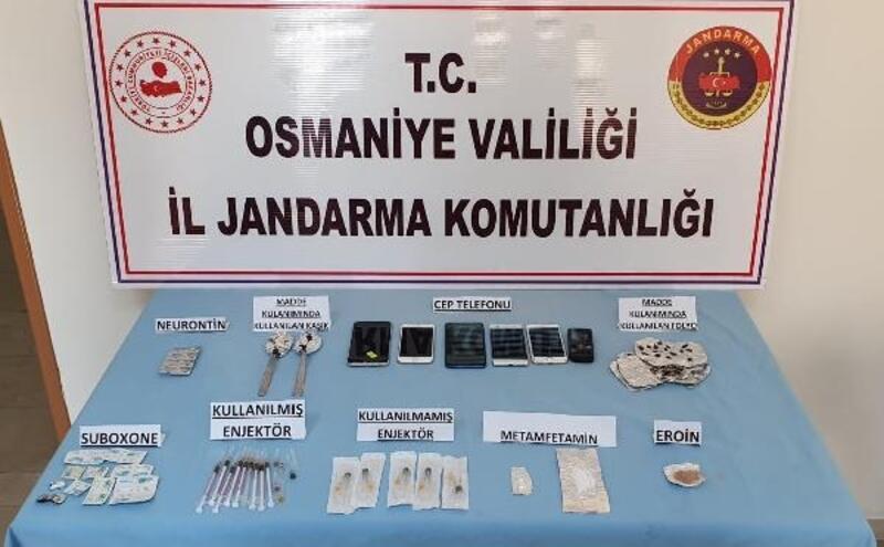 Uyuşturucudan gözaltına alınan 8 kişiden 2'si tutuklandı