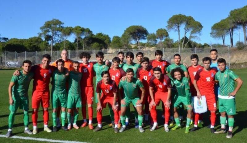 Azerbaycan U-19 Milli Takımı kampta