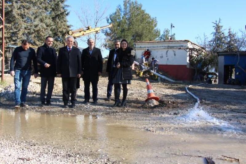 Bucak'ta içme suyu depolarında temizlik