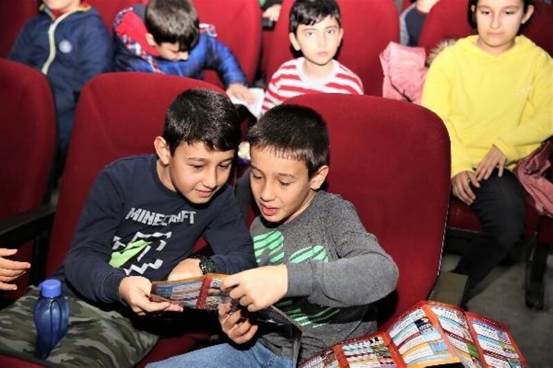 Çocuklar yarıyıl etkinlikleri ile doyasıya eğleniyor