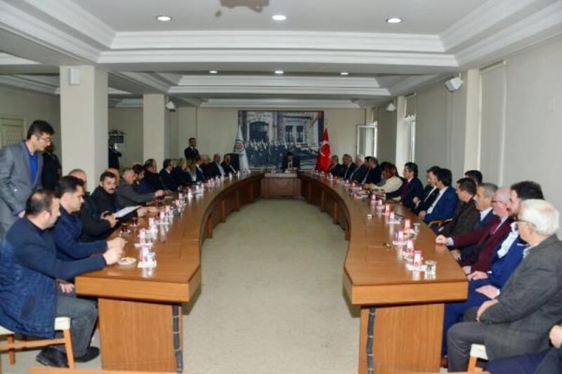 Erbaa'da 5 yıl sonra ilk kent konseyi toplantısı