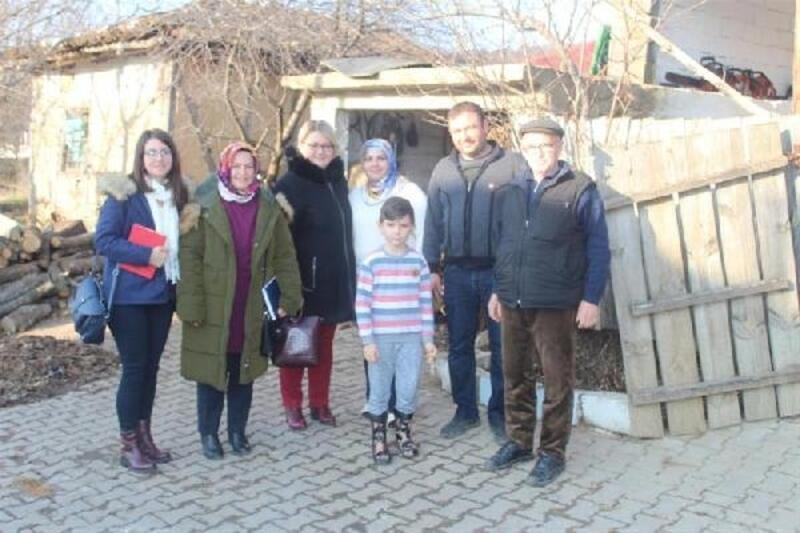 Kırklareli'de kadın çiftçi aldığı destekle ailesinin geçimini sağlıyor