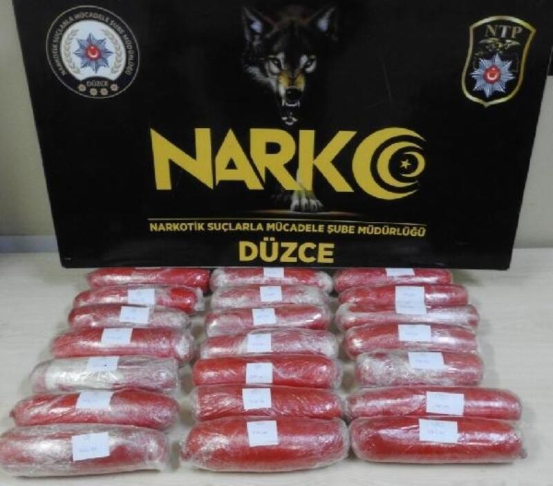 Düzce'de uyuşturucu operasyonu: 5 tutuklama