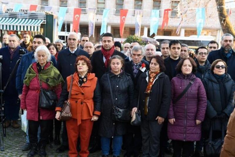 Uğur Mumcu ölümünün 27. Yıl dönümünde Beşiktaş'ta anıldı