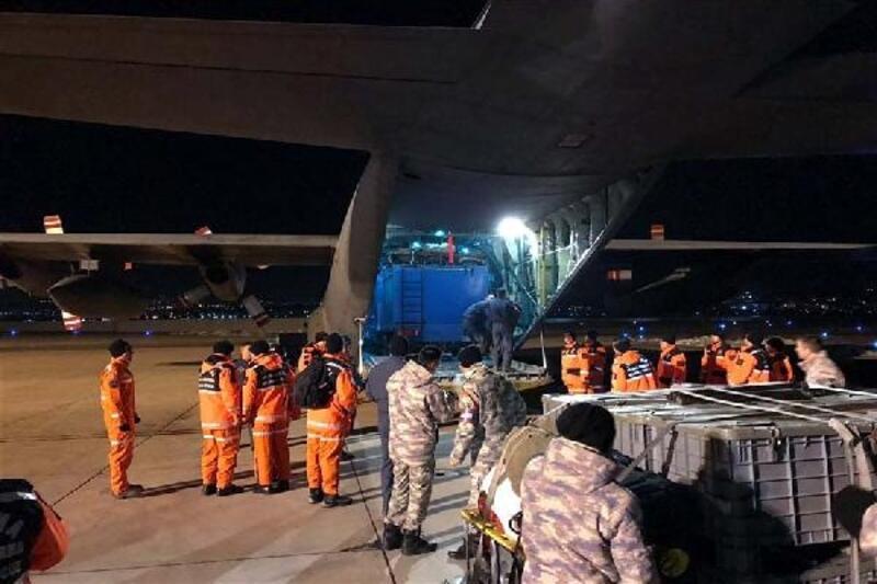 MSB: Depremin ardından kriz masaları oluşturuldu