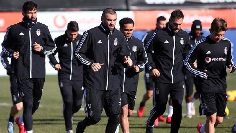 Beşiktaş, Göztepe maçı hazırlıklarını tamamladı