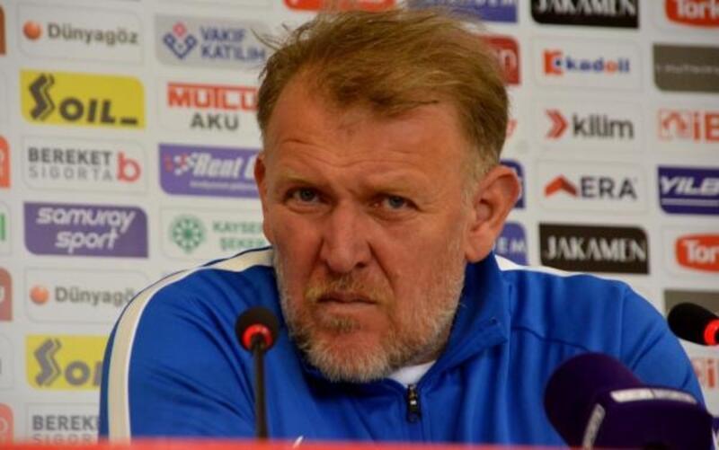 HES Kablo Kayserispor - MKE Ankaragücü maçının ardından