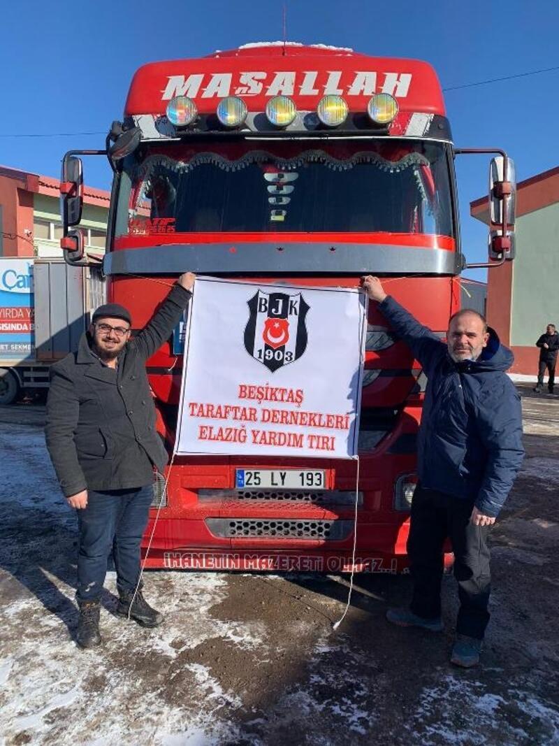 Beşiktaş'tan taraftarlarına Elazığ'daki deprem için yardım çağrısı