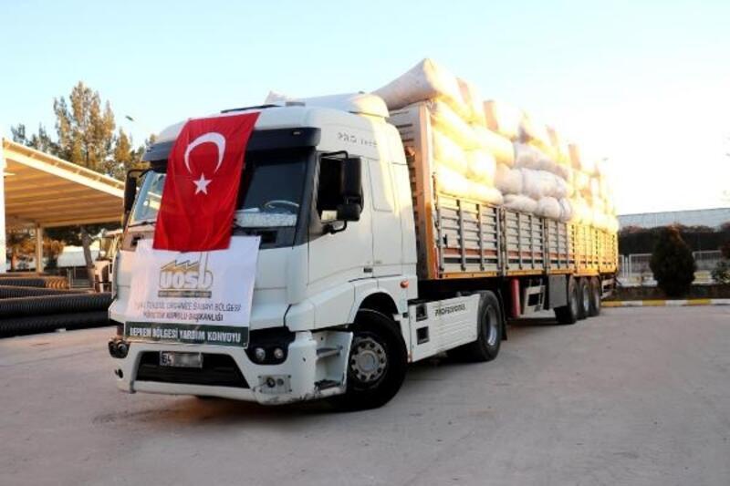 Uşak Valiliği'nden Elazığ'a 20 bin battaniye