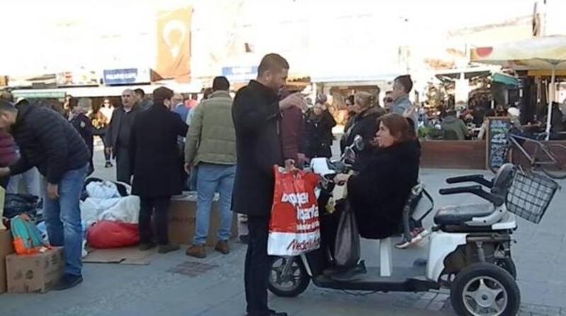 Foça'dan Elazığ'a yardım kampanyası