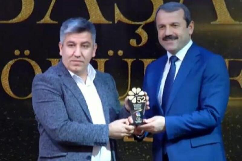 DHA Muhabiri Nedim Kovan'a, 'Yılın Haberi' ödülü