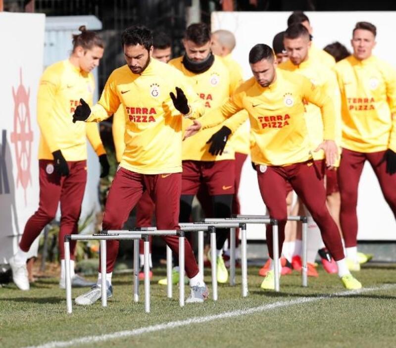 Galatasaray'da Konyaspor maçının hazırlıkları tamamlandı
