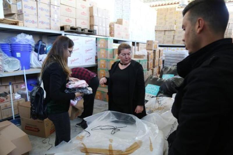 Mezitli'de Elazığ ve Malatya için seferberlik