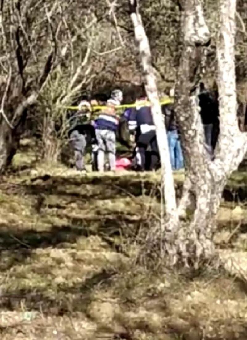 Kemerle ağaca asılı erkek cesedi bulundu