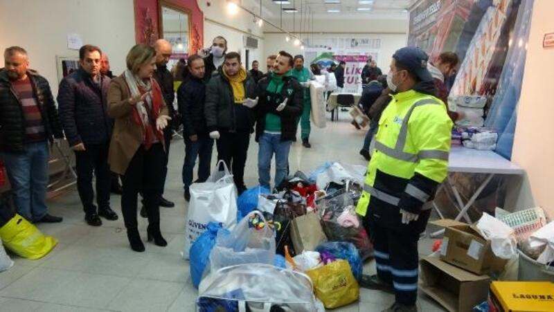 İzmit'te, Elazığ depremzedeleri içinyardım kampanyası