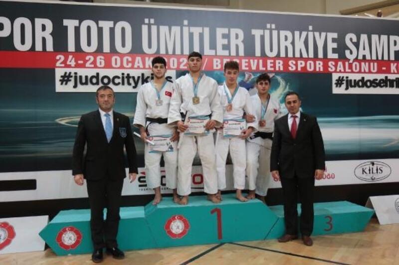 Ümitler Türkiye Judo Şampiyonası'na Kocaeli damgası