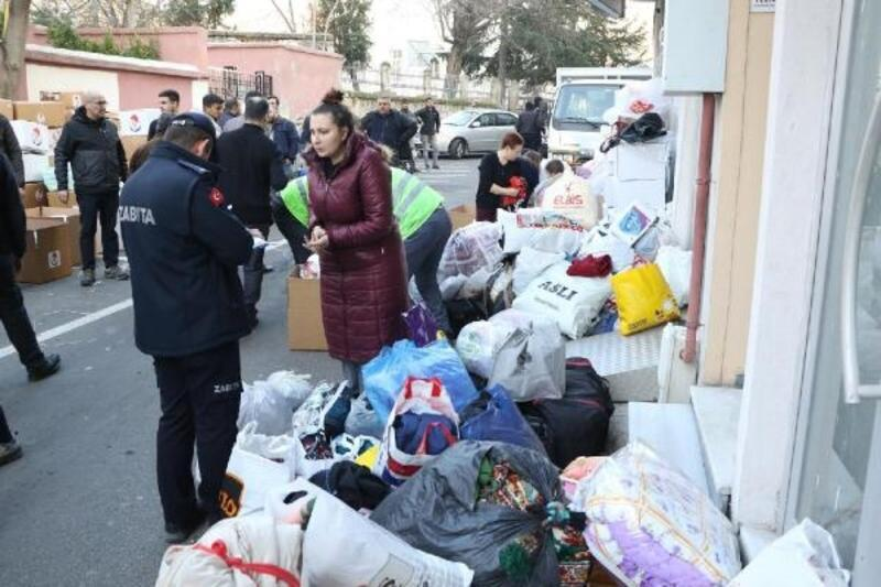 Kırklareli'den deprem bölgesine giysi yardımı