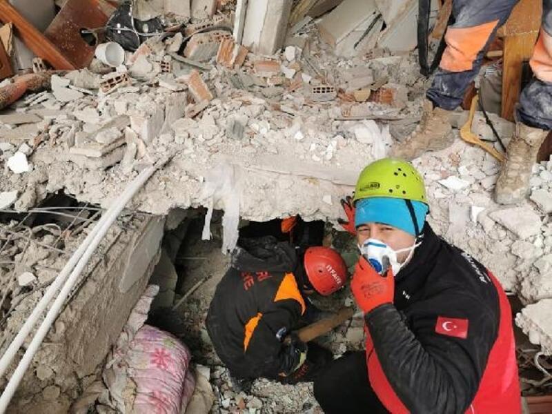 Kayseri itfaiyesi, depremde görevini tamamlayıp kente döndü