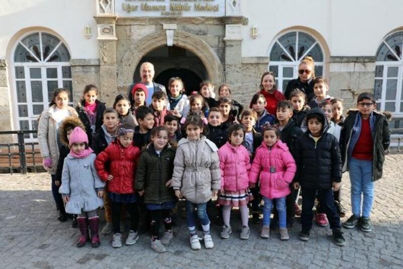 Mudanya'da öğrenciler sinemayla buluştu