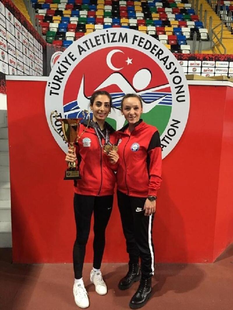 Nilüferli sporcu Seda Albayrak, Atletizm Genç Milli Takımı'na seçildi