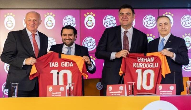 Galatasaray'da sponsorluk anlaşması imzalandı