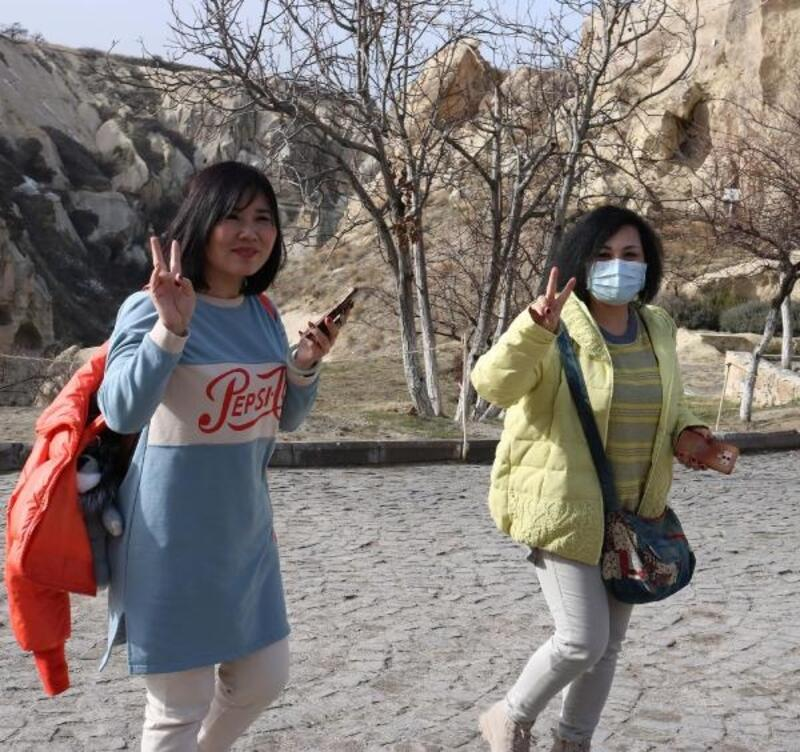 Kapadokya'da, Çinli turist sayısı düştü