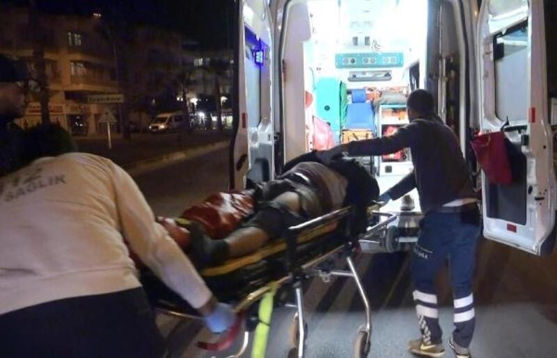 Kazada yaralanan motosikletlinin kanında uyuşturucu tespit edildi