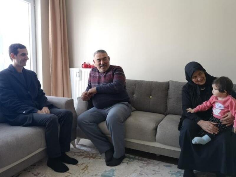 Kaymakam Meşeli'den şehit ailesine ziyaret