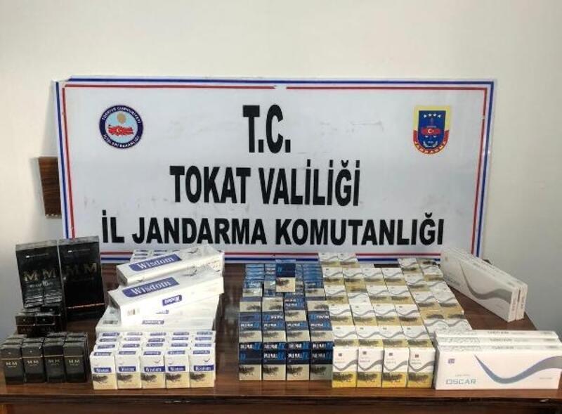 Tokat'ta 380 paket kaçak sigara ele geçirildi