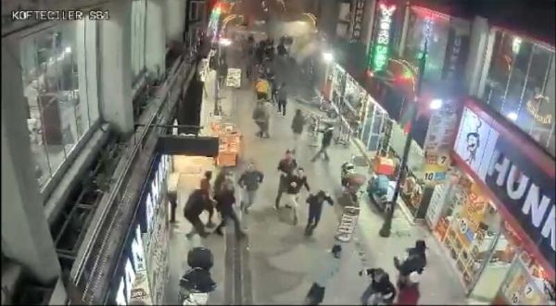 Elazığ depremi mobese kamerasında