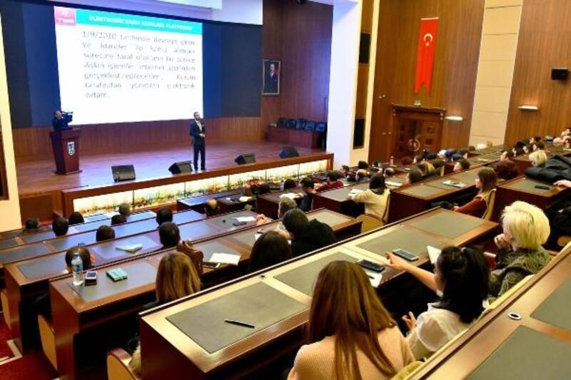 Büyükşehir Belediyesi'nde 'e-ihale' eğitimi