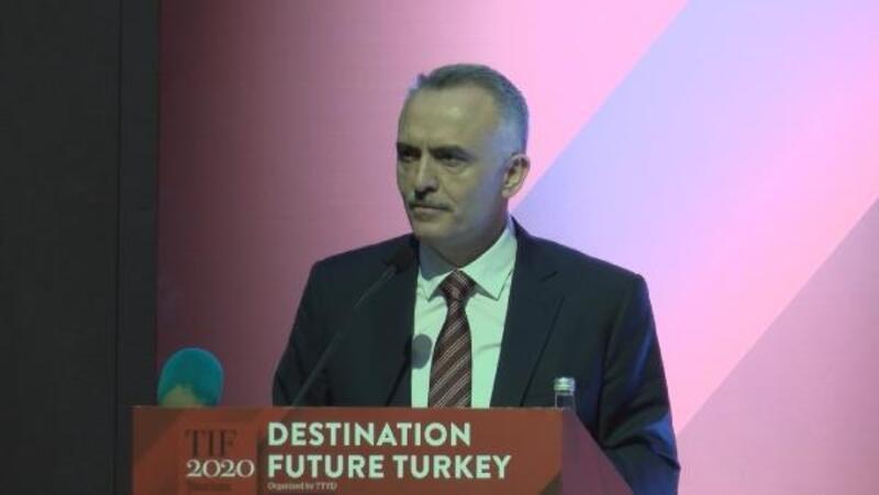 Naci Ağbal: 2023 yılı için 75 milyon turist ve 65 milyar dolar turizm geliri hedefledik