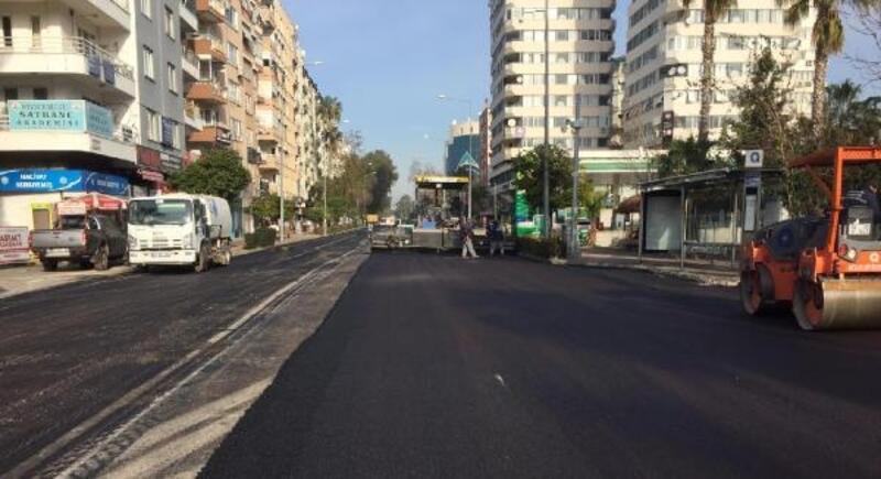 Güllük Caddesi'nin asfaltı yenilendi