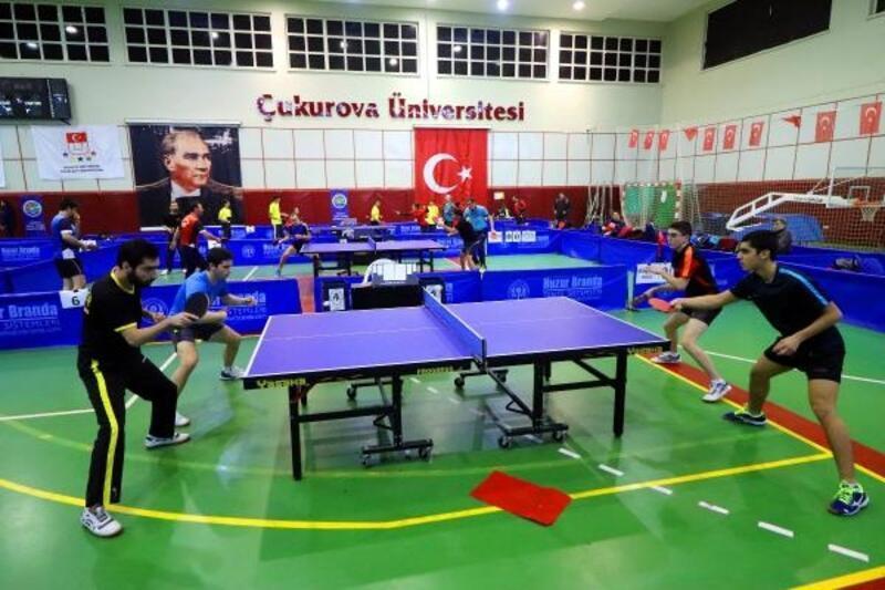 Adana'da Masa Tenisi Süper Lig müsabakaları tamamlandı