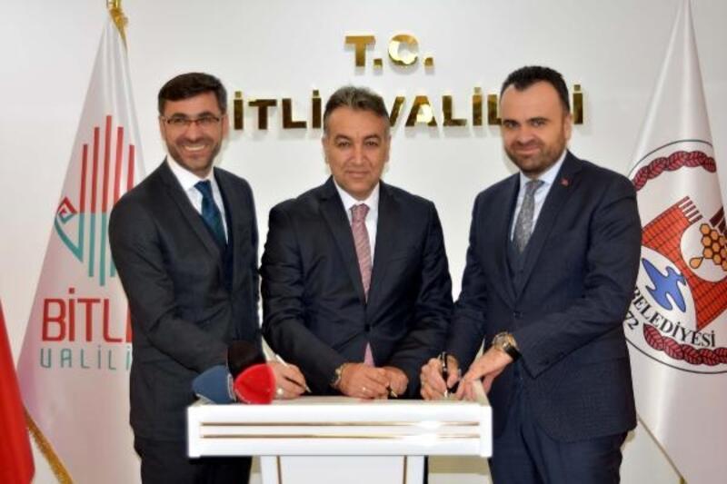 Bitlis'i kalkındıracak projenin, protokolü imzalandı
