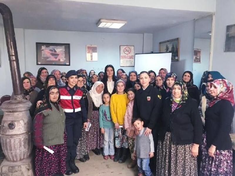 Jandarma'dan 'Kadına Yönelik Şiddete 0 Tolerans' semineri