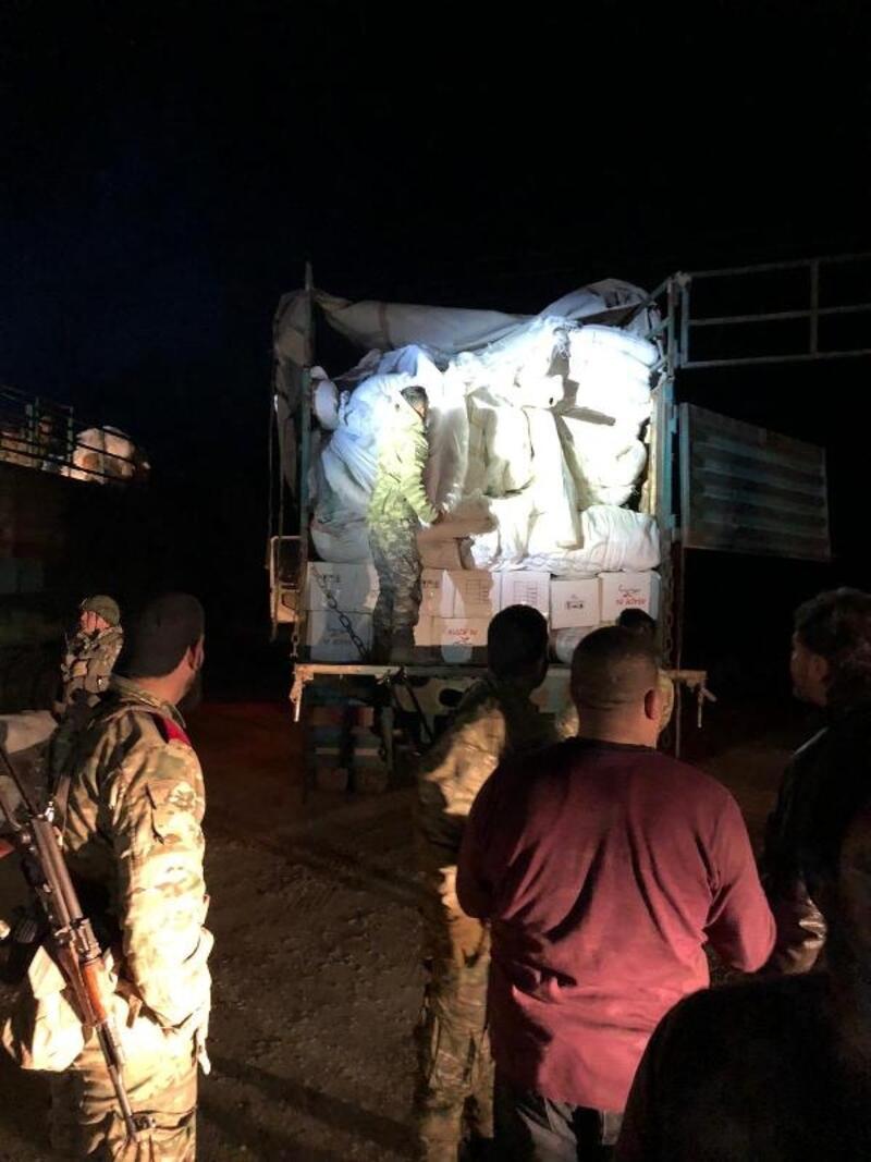 MSB: Tel Abyad'da 6 roketatar, 3 makineli tüfek ele geçirildi
