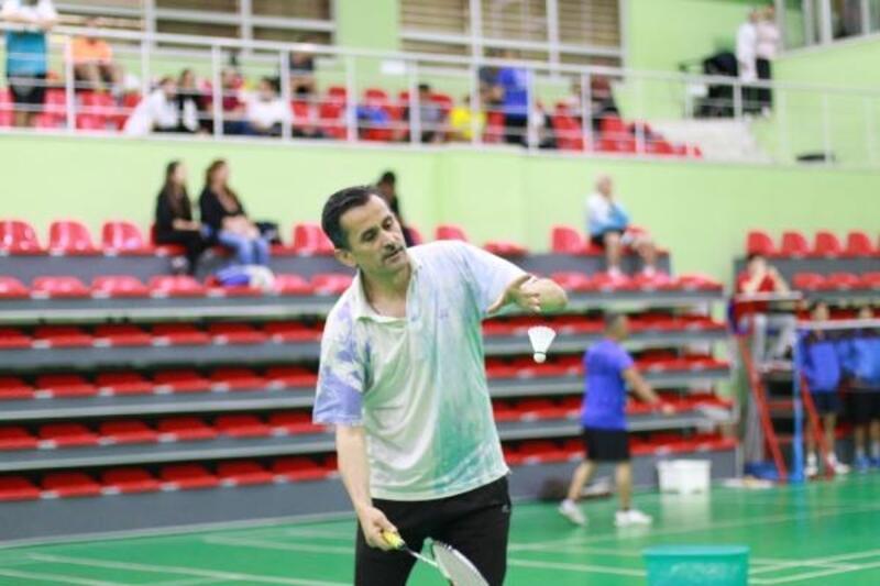 Veteranlar Türkiye Badminton Şampiyonası Ankara'da başlıyor
