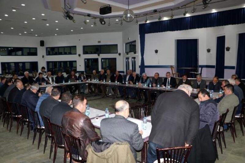 Sandıklı'da CHP toplantısı