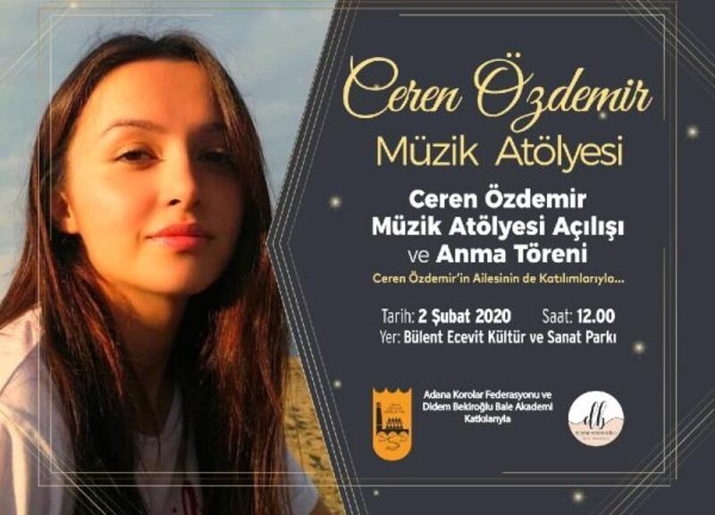 Ceren Özdemir, Çukurova'da anılacak
