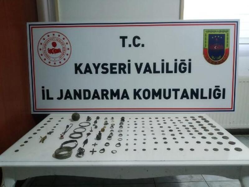 Kayseri'de tarihi eser operasyonu: 2 gözaltı