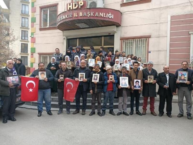 HDP önündeki eylemde 150'nci gün; aile sayısı 77 oldu