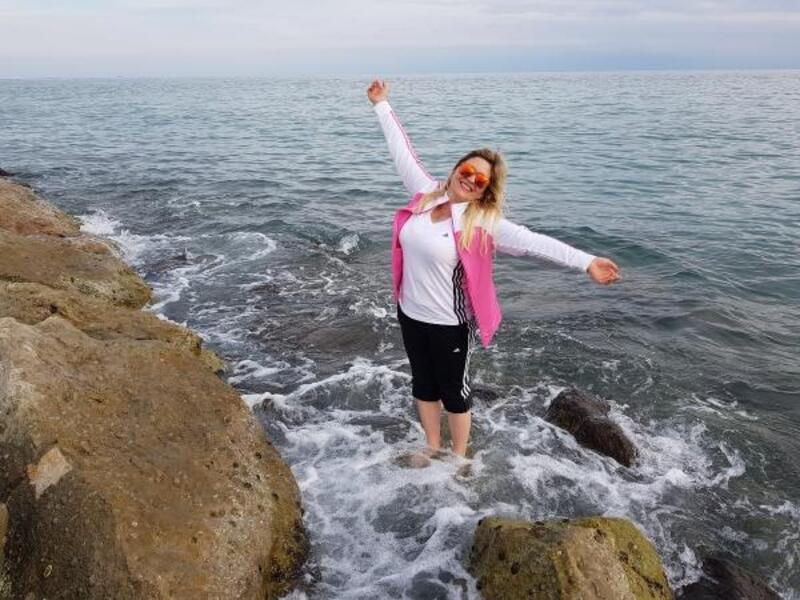 Adana'da doğaseverlerin deniz keyfi