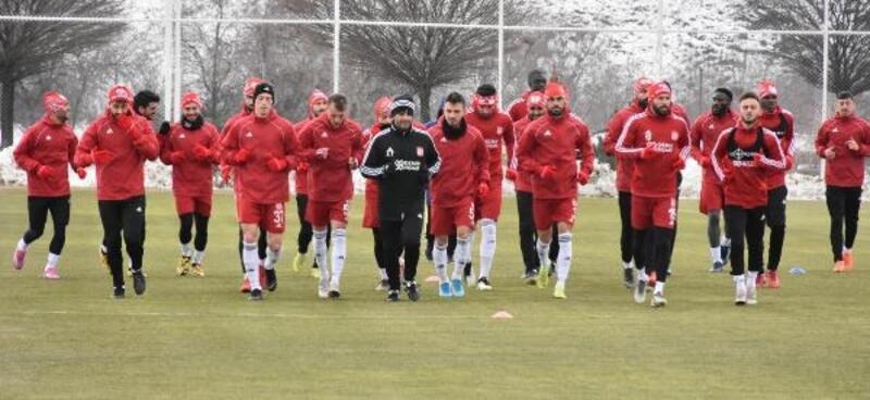 Sivasspor, Gaziantep maçı hazırlıklarını sürdürdü