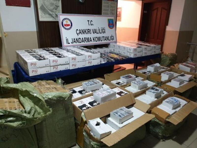 Çankırı'da 18 bin kaçak gözlük ele geçirildi