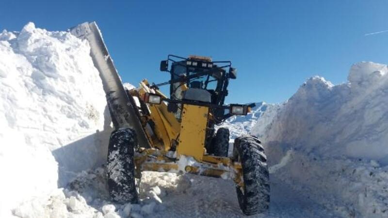 Bingöl'de 178 köy yolu kardan kapandı
