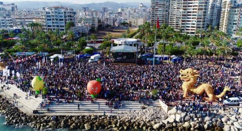 Mersin Narenciye Festivali'nde bu yıl hedef 1 milyon ziyaretçi ağırlamak