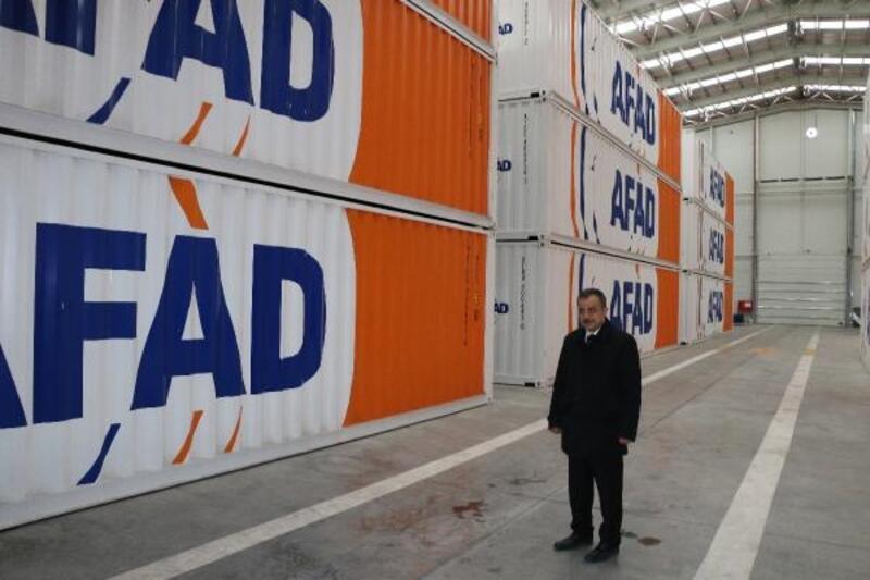 Erzincan'dan depremzedelere 99 yaşam konteyneri