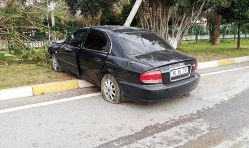 Alanya'da kaza: 1 ağır yaralı