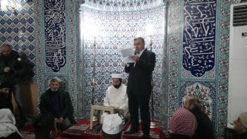 Mardin'de ABD'ye Kudüs tepkisi